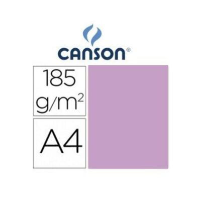 cartulina canson A4 185g lila