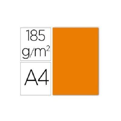 cartalina canson A4 185g naranja