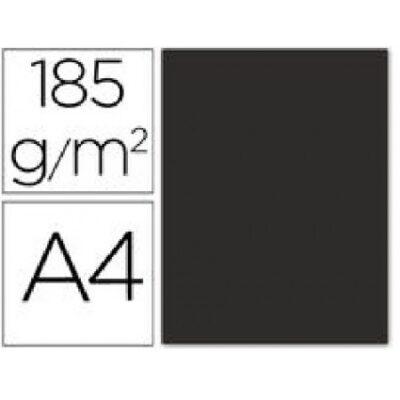 cartulina canson A4 185g negro