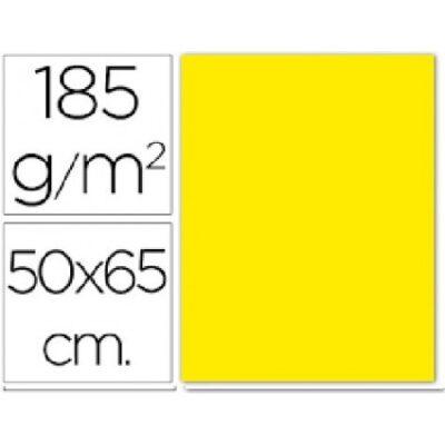 cartulina canson 50×65 185g amarillo canario