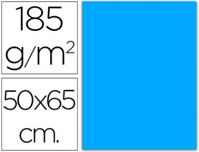 cartulina canson 50×65 185g azul maldivas