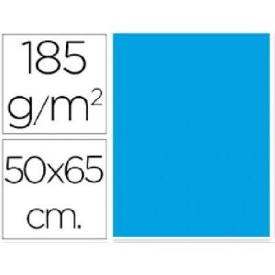 cartulina canson 50×65 185g azul turquesa