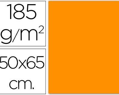cartulina canson 50×65 185g naranja