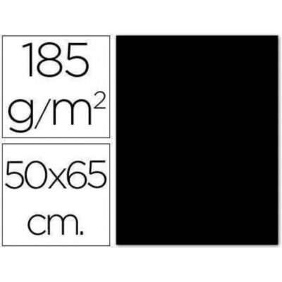 cartulina canson 50×65 185g negro