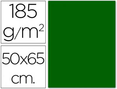 cartulina canson 50×65 185g verde billar