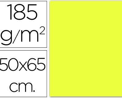cartulina canson 50×65 185g amarillo limon