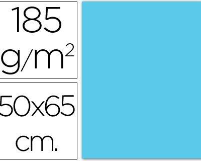 cartulina canson 50×65 185g azul cielo