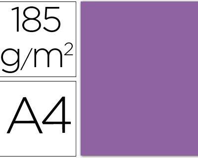 cartulina canson A4 185g violeta