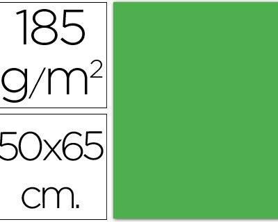 cartulina canson 50×65 185g verde manzana