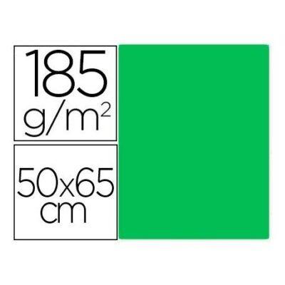 cartulina canson 50×65 185g verde kiwi