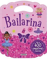 Bailarina Pegatinas, libro de pegatinas