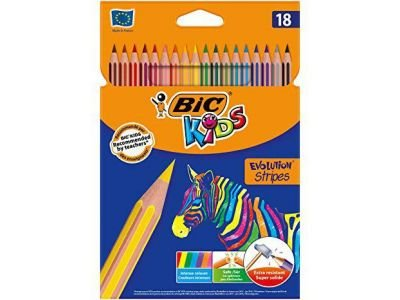 Pinturas Bic Kids 18 u.