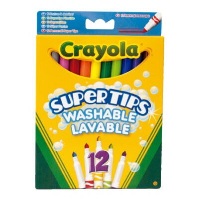 Rotuladores Crayola 12