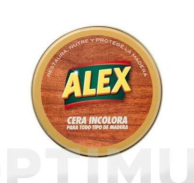 CERA ALEX INCOLORA LATA 250G