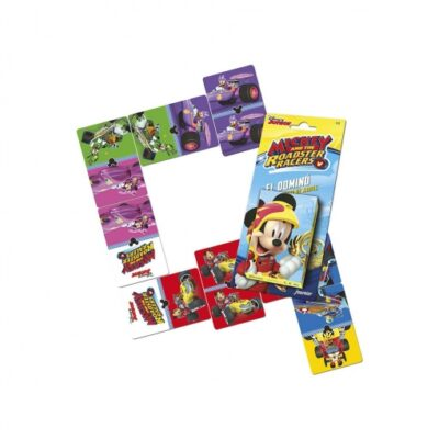 baraja cartas mickey roadster racers