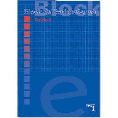 BLOCK EXAMEN CUADRICULADO TAMAÑO A4 PACSA