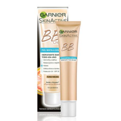 GARNIER BB CREMA FACIAL CON COLOR