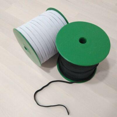 goma elastica blanco (trenza elastica)