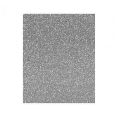 goma eva purpurina gris 40×60
