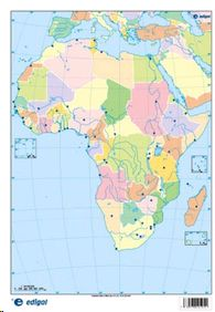 MAPA MUDO POLITICO AFRICA