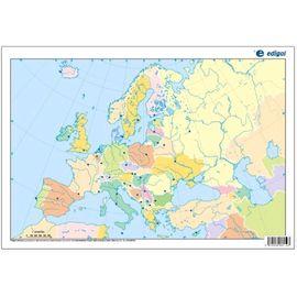 MAPA MUDO POLITICO EUROPA
