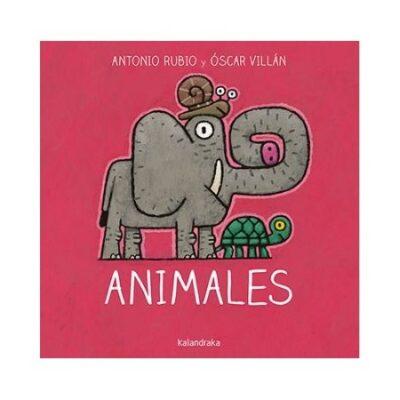 ANIMALES LIBRO DE LECTURA NIÑOS