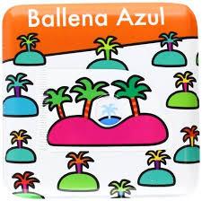 BALLENA AZUL LIBRO DE BAÑO