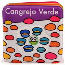 CANGREJO VERDE LIBRO DE BAÑO