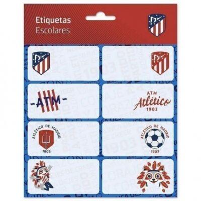ETIQUETAS ESCOLRES ATLETICO DE MADRID 16U.