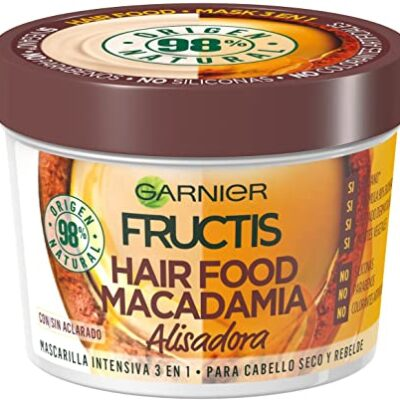 FRUCTIS MASCARILLA HAIR FOOD  MACADAMIA 390 ML