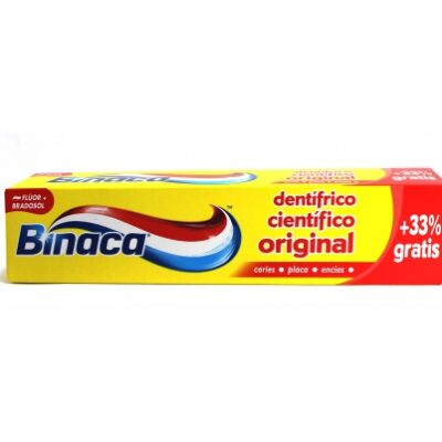 BINACA ORIGINAL PASTA DE DIENTES 100ML