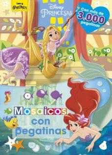 LIBRO DE PEGATINAS PRINCESAS MOSAICOS