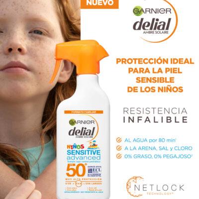 DELIAL PISTOLA NIÑOS IP50 300ML
