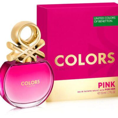 COLONIA BENETTON COLORS PINK WOMAN 50ML