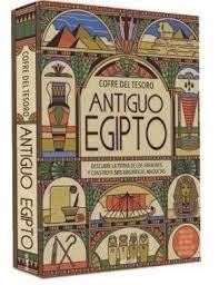 ANTIGUO EGIPTO COFRE DEL TESORO